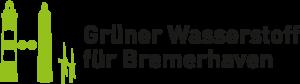 """Logo """"Grüner Wasserstoff für Bremerhaven"""""""